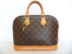 Louis Vuitton Alma + LV padlock (302) with 2 keys -*No Minimum Price*