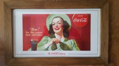 Coca Cola in the picture. Coca Cola advertise. USA edition ca. 1994/7y