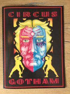 Batman Forever movie prop. Gotham City Circus program SCREEN USED