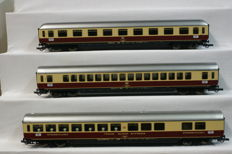 Roco H0 - 44120 - Set 3x passenger carriages TEE of the DB