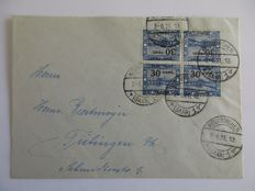 Saar area and Saarland - small batch postal items, FDCs etc.