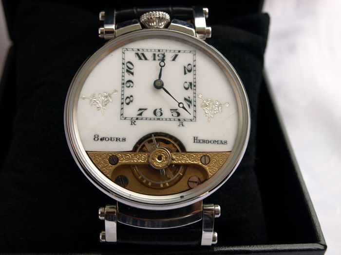 41. Hebdomas marriage wristwatch 1900-1905