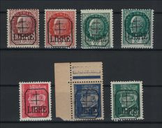 France 1944 – Stamps from the liberation of Measne signed Scheller.