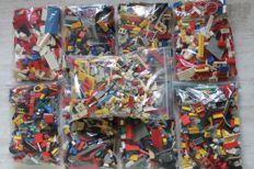 Assorted - Unsorted LEGO - total 8.6 kilos
