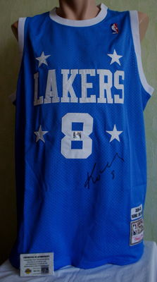 Kobe Bryant signed vintage Basketball LA Lakers 2004/05 Jersey with original LA COA Autographed NBA HOF shirt No Reserve Price