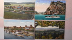 Germany - 135x vintage ( 1900-1939 ) cities, towns, castles, Rhine Valley and resorts