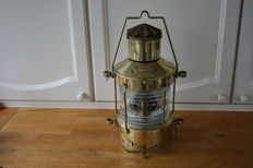 Brass anchor lamp light