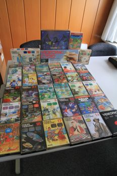 Collection of 35 Philips Videopac Games