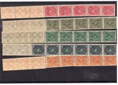 German Reich 1880/1932 – collection in cards