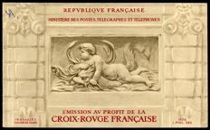 France 1952 - Red Cross booklet - Yvert 2001
