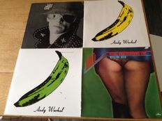 Great lot of 4 Albums ( 5 Lp's ) - Velvet underground & Nico ( 3 ) / Lou Reed ( 1 )