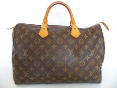 Louis Vuitton Speedy 35 + LV padlock (304) -*No Minimum Price*