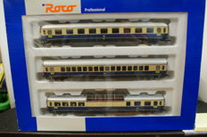 Roco H0 - 45905 - Set 3x carriages Rheingold of the DB