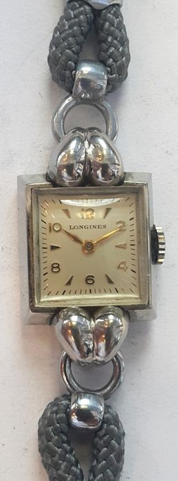 Vintage ladies wrist watch Longines - Switserland around 1950s