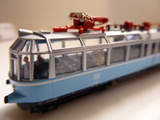 "Fleischmann N - 741102 - Electric Train ""Glass Train"" BR 491 of the DB"