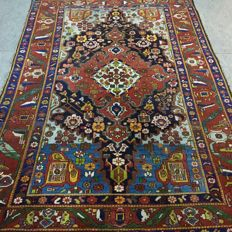 Antique collector's carpet !!  100 years old Persian Bakhtiar 310 x 210 cm, approx. 1910