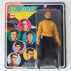 "Star Trek Capt. Kirk original seventies  8"" Action Figure MEGO 1974."