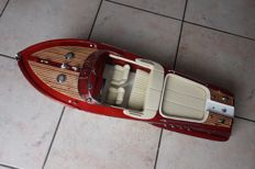 Very nice model of the boat Riva Aquarama, Lamborghini finish