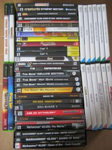Lot of 45 games for Xbox, PC & Wii