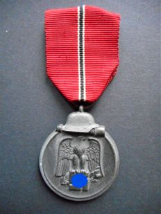 "Medal ' Winterslacht im Osten "" - Germany, period 2nd World War"