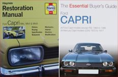 2 Books / Manual on Ford Capri Mk I, Mk II & Mk III
