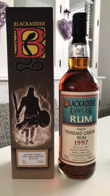 Caroni 20 Years Old From Trinidad By Blackadder Raw Cask.