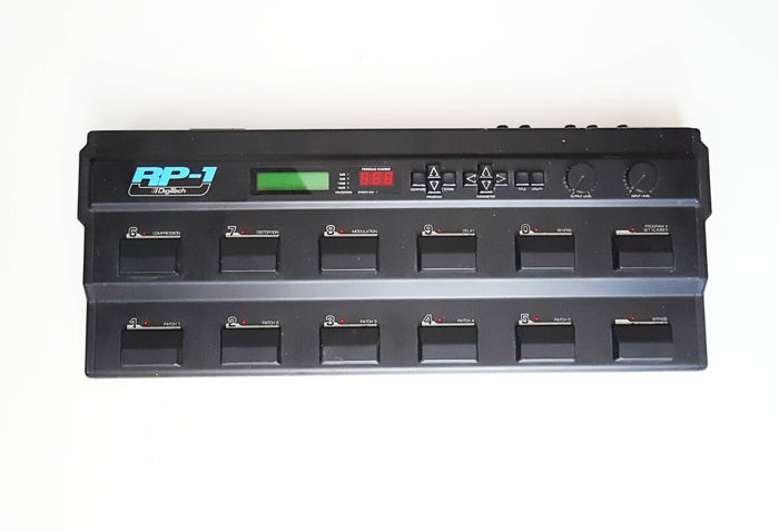 DigiTech RP-1 RP1 Digital Multi ffects Guitar Pedal Board USA