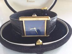 Cartier, Must by Cartier Vermeil Lapiz Lazuli - Watch - 1980s