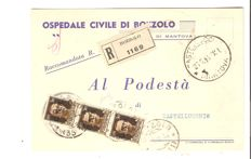 Italy, RSI 1944 – Lot of 5 letters