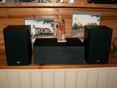 Class speakers: HECO INT.REFLEX 10MKII and Center Speaker VITAS CENTER 2.