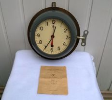 Original Russian Navy Submarine Clock № 0265 With passport - Made in USSR - 1976