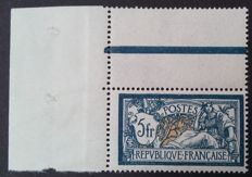 France 1900 - Merson, 5 g, blue and chamois, signed Calves - Yvert 123