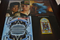 4 albums from the Alan Parsons Project and 5 albums from Kayak