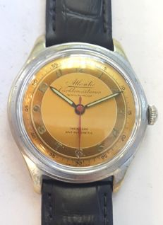 Vintage wrist watch Atlantic Worldsmastarur - Switzerland around 1955