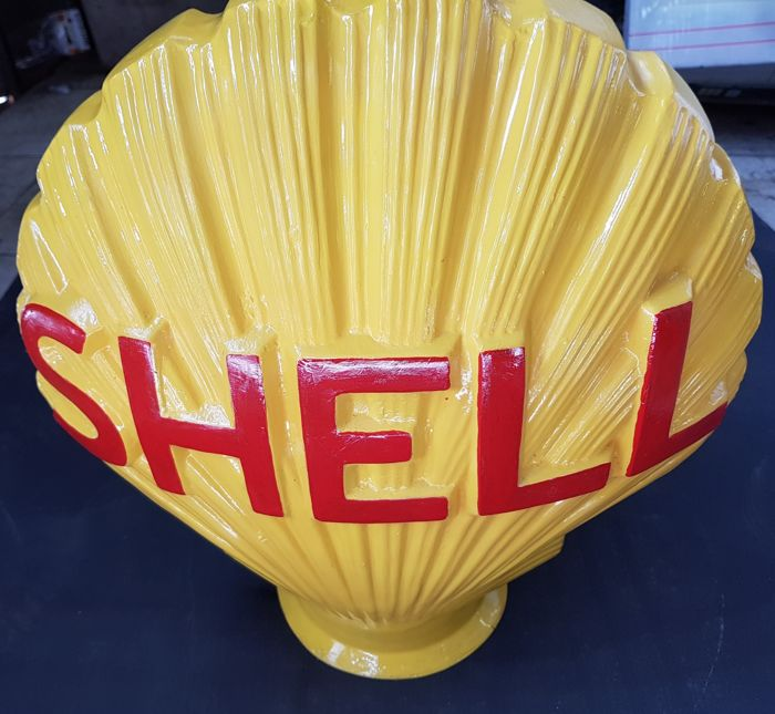 Reproduction Shell Gas Pump Globe *Gas & Oil