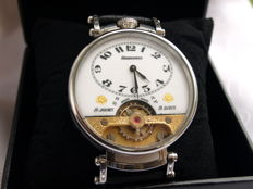 17. Hebdomas 8-day marriage wristwatch 1900-1905