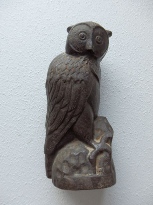 Beautiful Cast Iron Owl