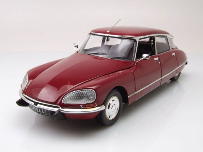 Norev - scale 1/18 - Citroen DS23 Pallas - dark red