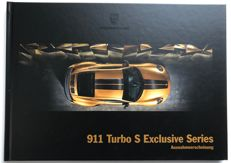 Porsche 911 TURBO S EXCLUSIVE SERIES 2018 Prospekt, Original von PORSCHE