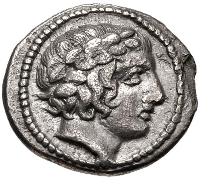 Greek Antiquity - Macedon Chalcidian League Tetrobol 415 - 410 BC