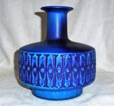 Bodo Mans for Bay - Blue vase model 372