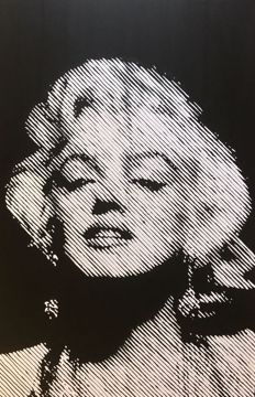 Catharina Massaut - Marilyn Monroe, Some like it hot