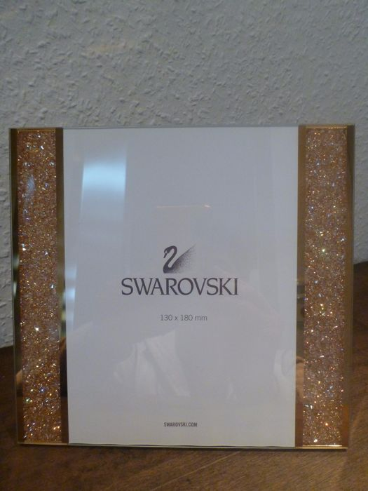 Swarovski - picture frame Starlet Golden Shadow