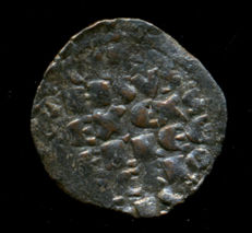 Spain – Alfonso X 'The Wise', 1252–1284 – King of Castille and Leon – Dinero de vellón