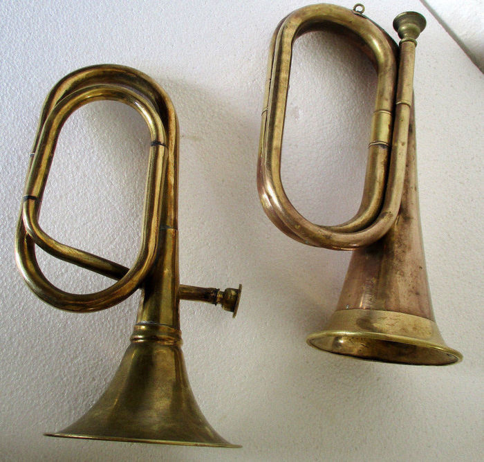 Solid Brass Trumpets 1890