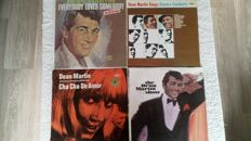 A fantastic lot of 26 LP albums, including 2 double albums by Dean Martin. All on the Reprise label (19) and the Capitol label (12). a lot of original albums.  4 free bonus albums