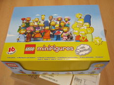 Series The Simpsons 2 - Collectible Minifigs - FULL box!