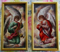 Father Leon Andreas Bosteels ( 1901 - 1970 ) 2 Angels