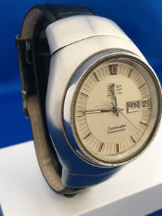 Omega Seamaster lobbster _Day and Date_ Chronometer F300 _Men _cal 1260_ 40 mm – From 1970.