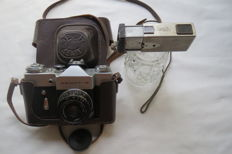 Zenit-B USSR 1968-1973 KMZ (Krasnogorsk)Rare copy..For a present Spy Camera USSR Vega-2.Limited edition,.he very first year of production. 1961 to 1964